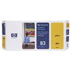 PRINTHEAD AND   CLEANER UV YELLOW NO 83