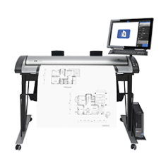 SCANNER IQ QUATTRO 44 MFP REPRO Low Stand for side-by-side